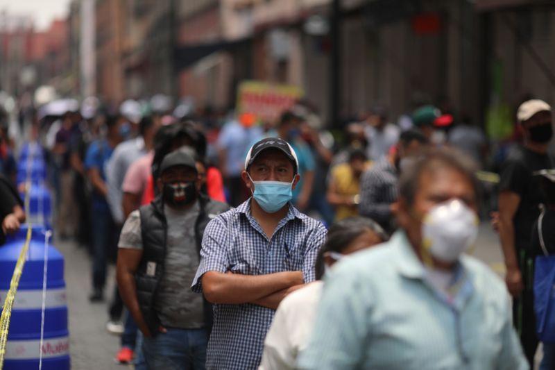 México ocupó el séptimo lugar en el ranking mundial de infecciones por COVID-19 después de superar al Reino Unido