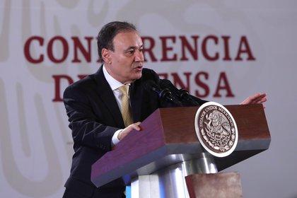 Seguridad pública mexicana և Secretario de Defensa Civil Alfonso Durazo (Foto por EFE / Sashenka Gutiérrez)