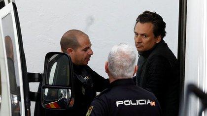 Lozoyan llegará a México en las próximas horas para ser juzgado por varios delitos, a pesar del hecho de que se espera su cooperación (foto: Jon en Nazka / Reuters)