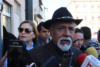 Jaime García Chávez es un abogado activista que siguió el caso de Cesu Duarte porque era gobernador de Chihuahua (Foto de Twitter @LaOpcion)
