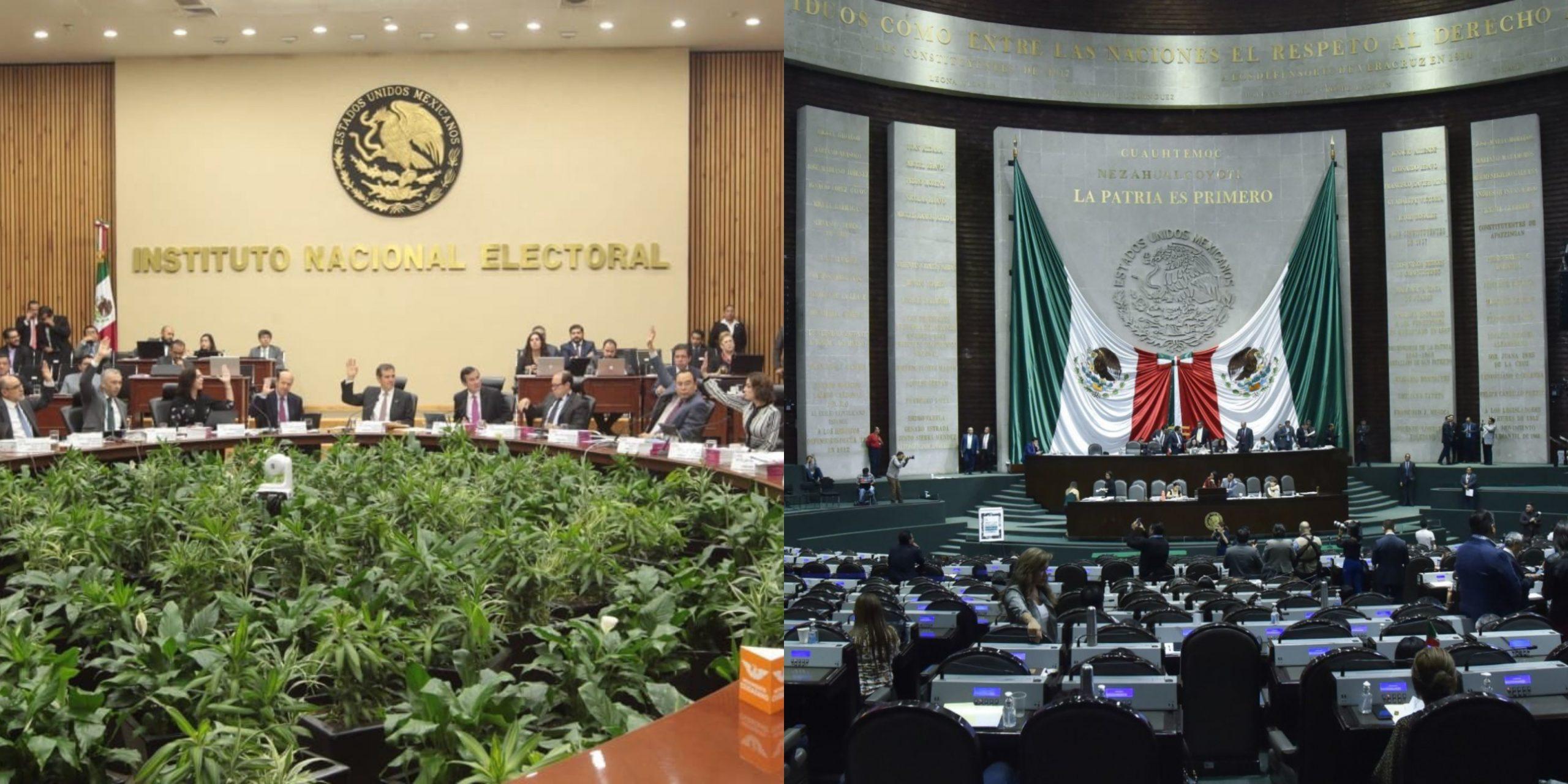 Morena, PT MP Los parlamentarios del PSE buscan el despido de los aspirantes a quintetos de CEO del INE