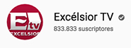 Logotipo de Excelsior TV YouTube