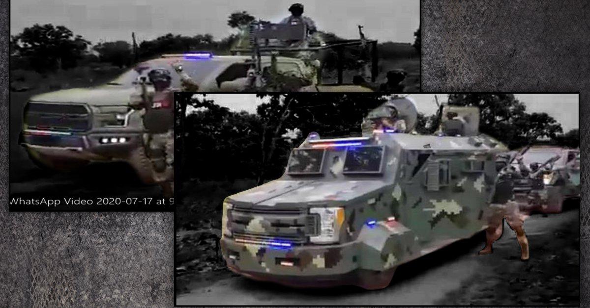 ¿Cuál es la potencia de fuego real mostrada por el JCO en videos de campañas reales?