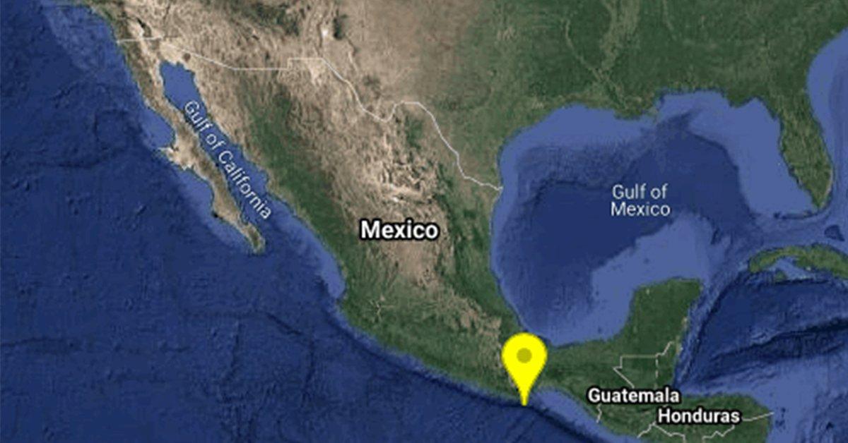 Un terremoto de magnitud 5.7 sacudió la ciudad de Kruchitsa en Oaxaca