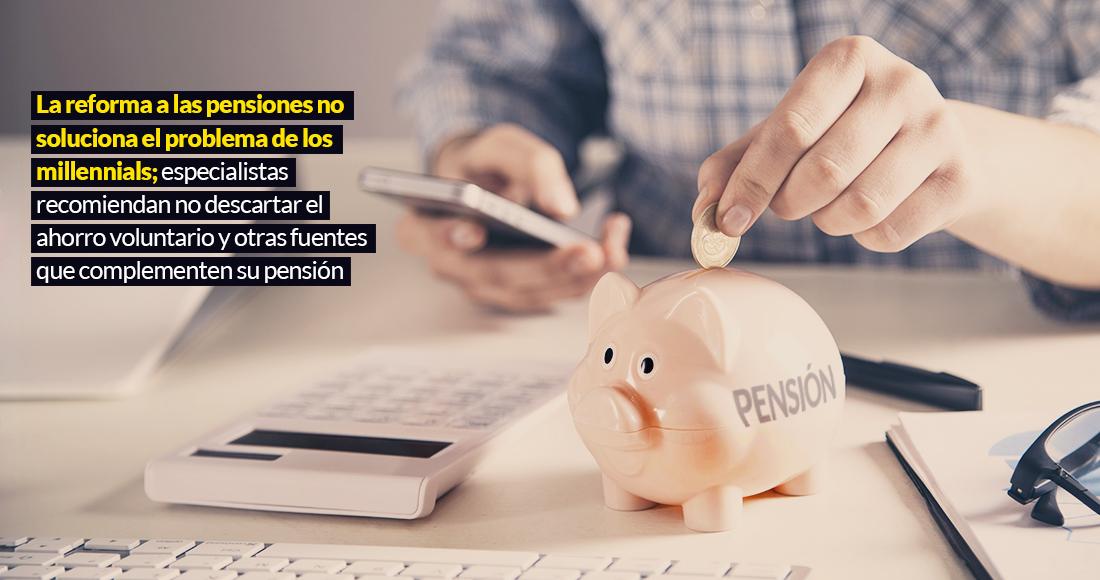 Las reformas de las pensiones no salvan el milenio.  Solo tienes que ser más exigente con la ayuda que brindas a otras personas
