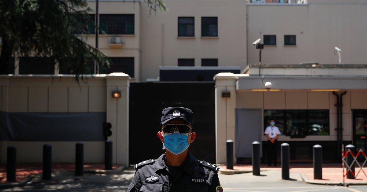 El régimen chino ha tomado el control del Consulado de los Estados Unidos en Chengdu