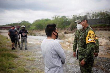 Después de un huracán en Texas (EE. UU.), Llegó a México como un huracán (Foto de Reuters / Daniel Becerril)