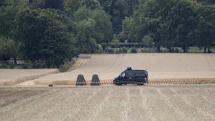 Según los medios locales, la policía alemana lanzó una operación