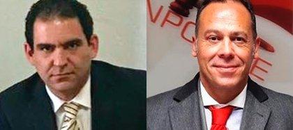 Miguel Ontiveros Alonso եխ Alejandro Rojas Pruneda son los abogados de la defensa de Emilio Lozoya (Foto: Especial)