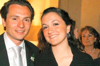 Emilio Lozoa և su hermana Gilda Susana, quien seguía siendo beneficiaria de una cuenta bancaria suiza con la cual el dinero supuestamente tenía un triángulo (Foto: especial)