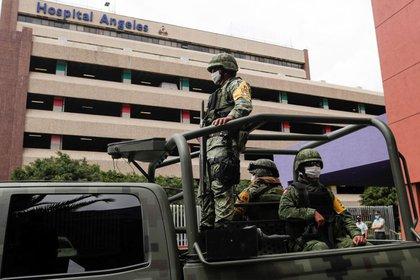 Lozoya regresó al hospital donde estuvo desde el 17 de julio cuando fue extraditado a México (foto de Henry Romero / Reuters)