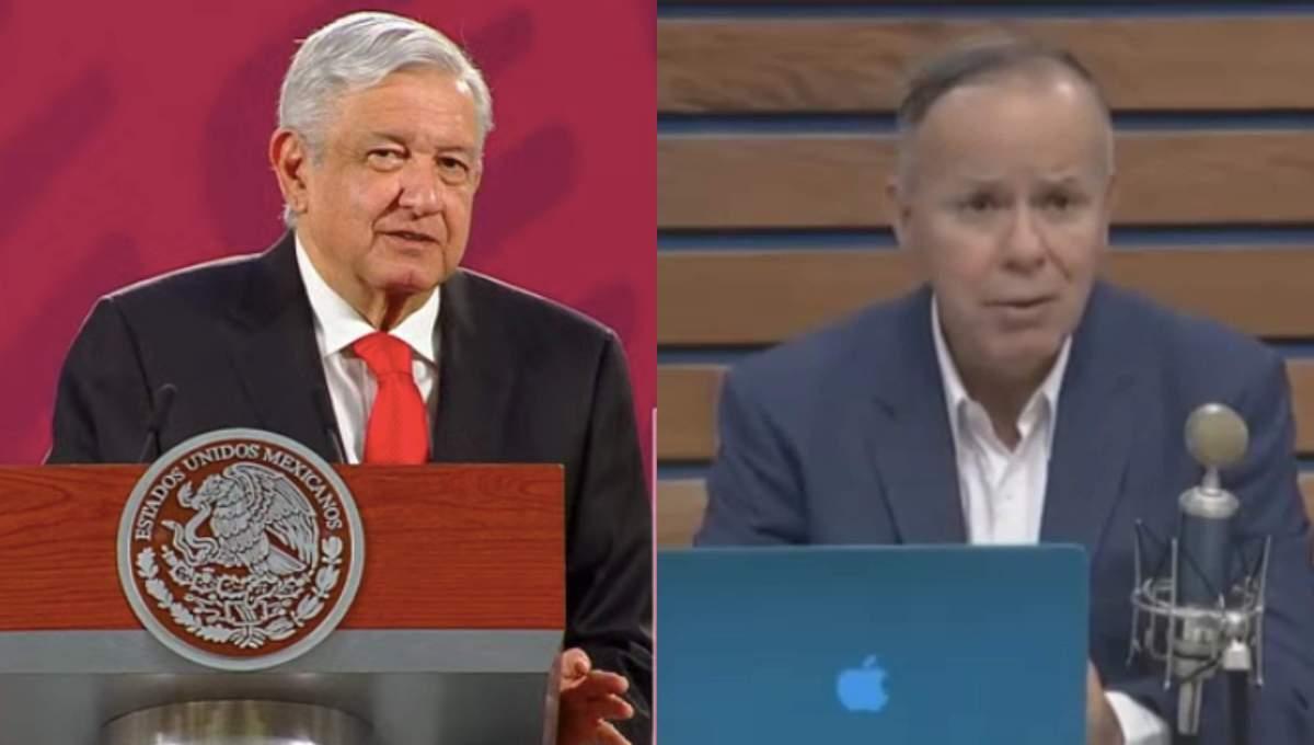 """AMLO está en contra del uso de una máscara para un """"sexista"""".  Ciro Gómez Leyva:"""