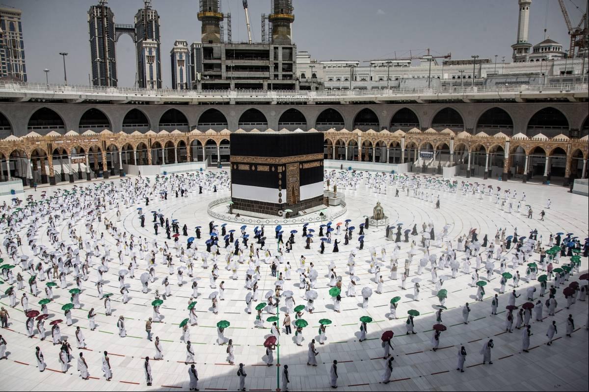 Arabia Saudita: La peregrinación a La Meca comienza en medio de posibles restricciones debido al coronavirus