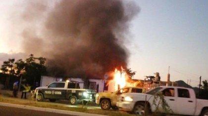 Ataque a una casa por Los Salazar (Foto: Especial)