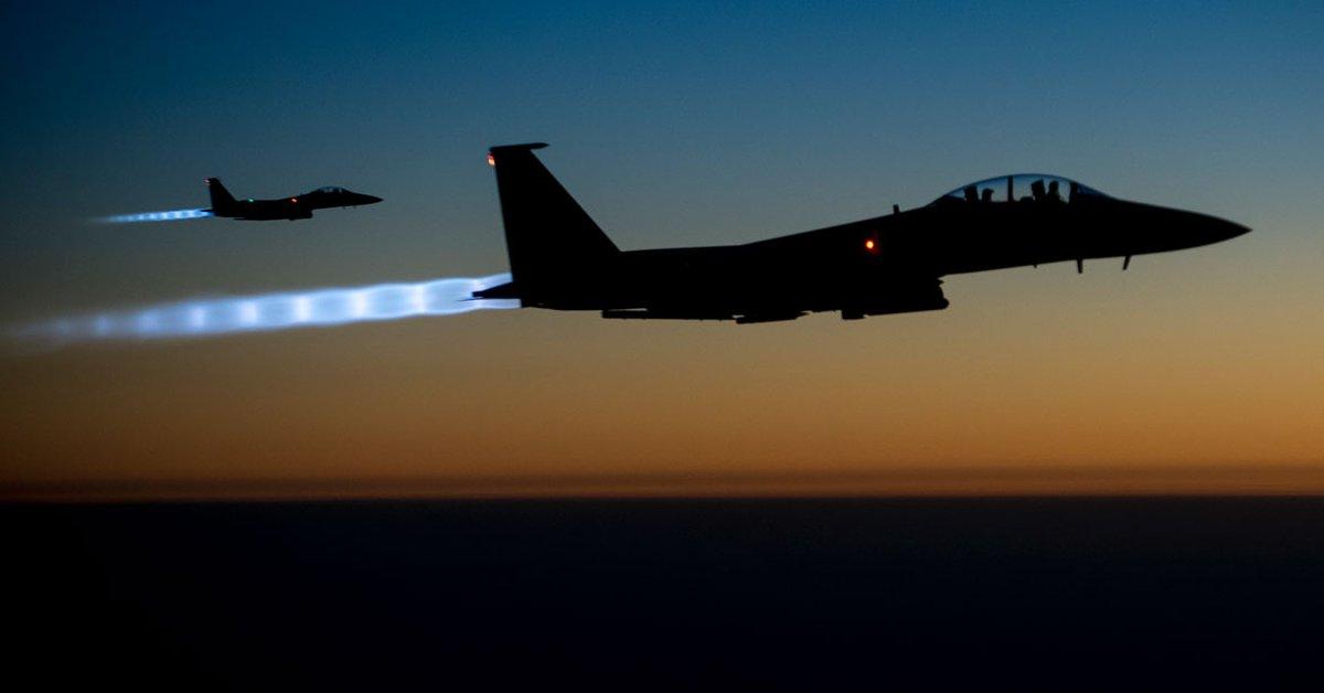 Un avión de combate estadounidense se estrelló contra un avión comercial iraní