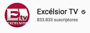 Logotipo de YouTube de Excelsior TV: