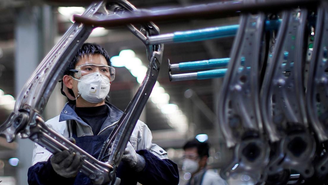 La actividad industrial de China registra el mayor crecimiento en casi diez años