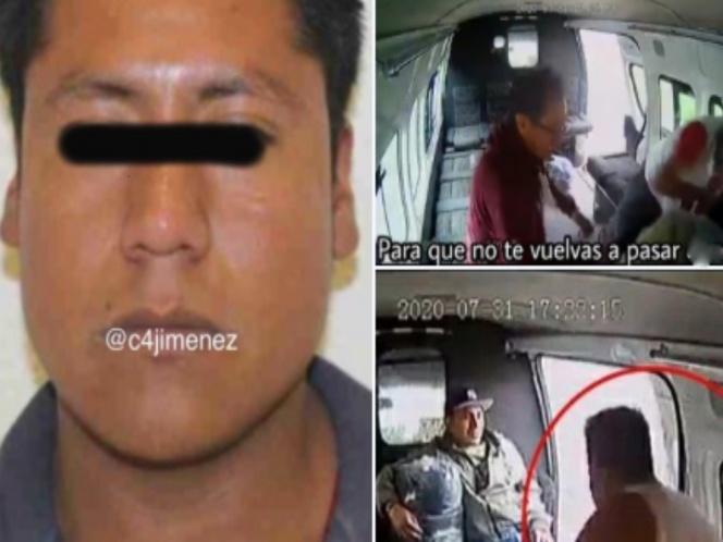 Identifican al ladrón que fue golpeado en México. ¿Conoces Texcoco?