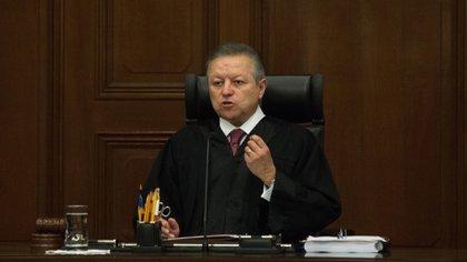 Zaldavar ha liderado la reforma judicial desde que asumió la presidencia de la SCJN և CJF en enero de 2019 (Foto de Moisés Pablo / Cuartoscuro)