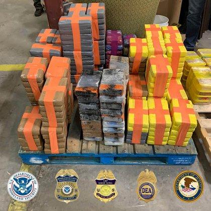 El último túnel de drogas encontrado contenía 4 4,400 por valor de varias drogas valoradas en $ 30 millones (Foto cortesía)