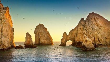 Escriba El Arco, una popular postal popular de Los Cabos en Sur, Baia, California, México.  (Shutterstock)