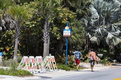 Florida tiene el segundo estado más infeccioso, COVID-19 (Foto de REUTERS / Eve Edelheit)
