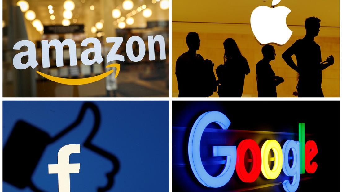 Amazon, Apple, Facebook և Alphabet están anunciando enormes ingresos trimestrales, un día después sus líderes comparecieron ante el Congreso de Estados Unidos.