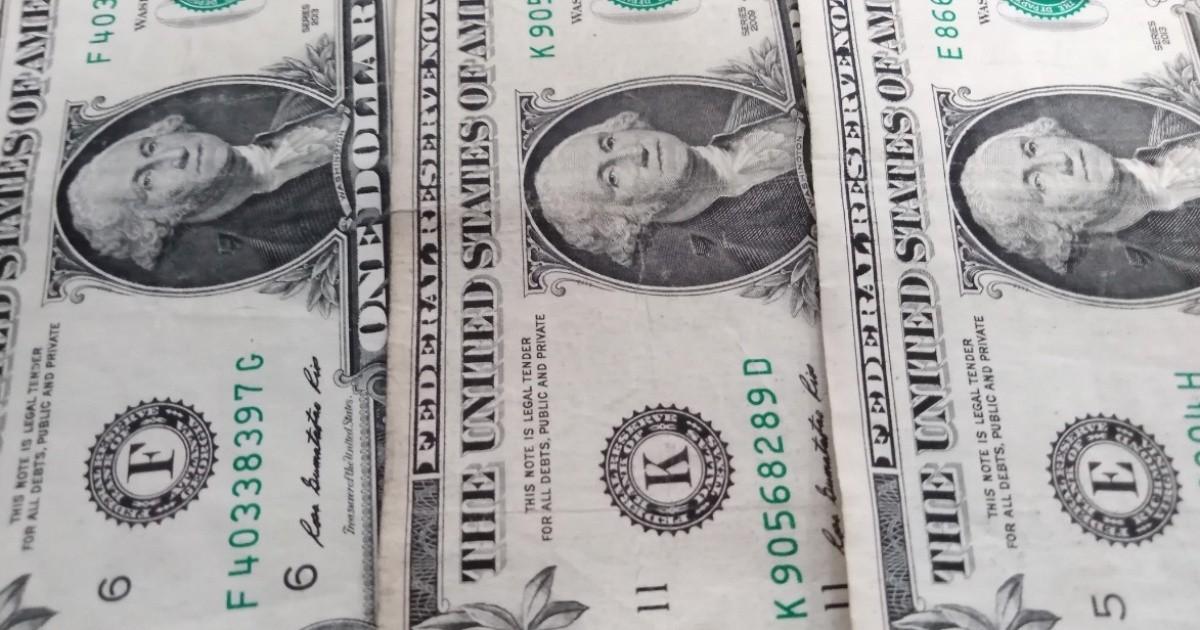 El precio del dólar hoy es el lunes 10 de agosto de 2020