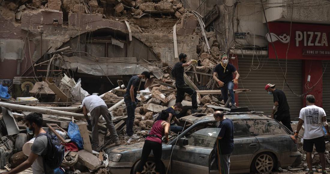 Cámara lenta con alta resolución graba detalles invisibles de la explosión de Beirut (VIDEO)