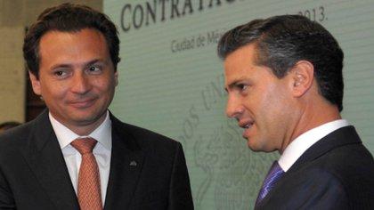 Emilio Lozoya և Enrique Pona Nieto (Foto de Quartoscuro)