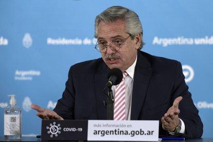 Fernández explica que México se encargará de empaquetar la vacuna (Foto de Reuters)