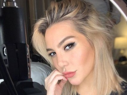 Frieda trató a la pareja de manera muy insultante, diciendo que estaba molesta con la relación (foto del Instagram de Frida Sofia)