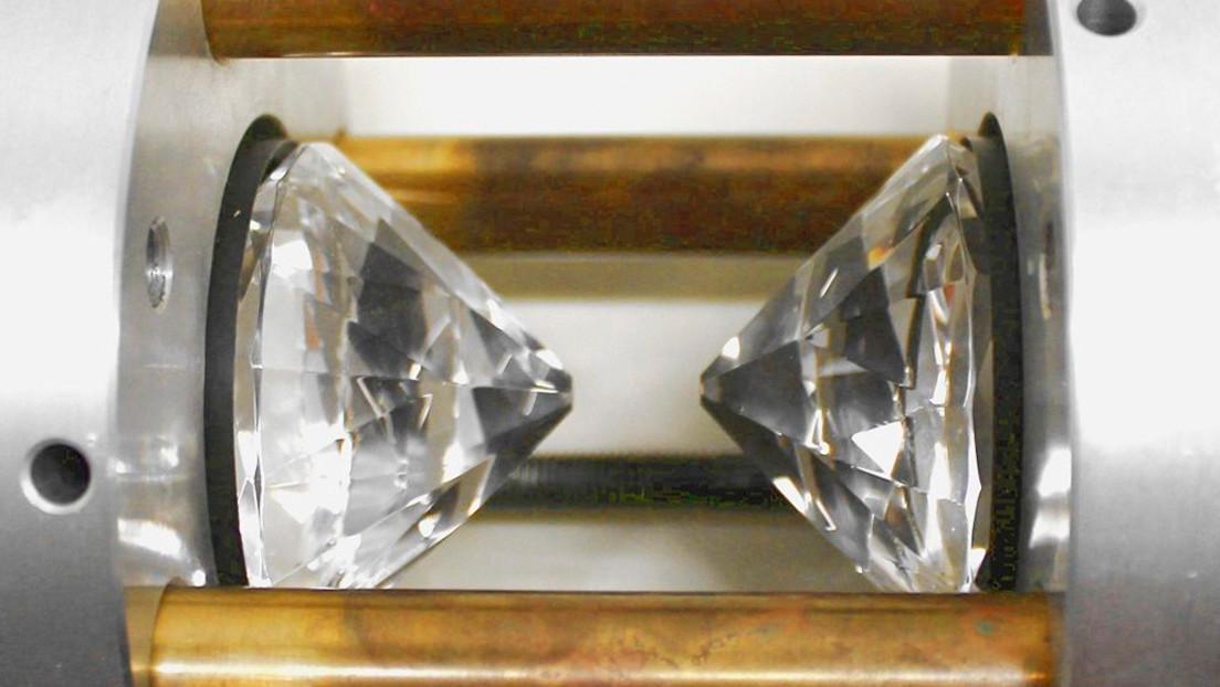 Exprimen nitrógeno como en una fábrica de diamantes, obtienen una estructura como el fósforo
