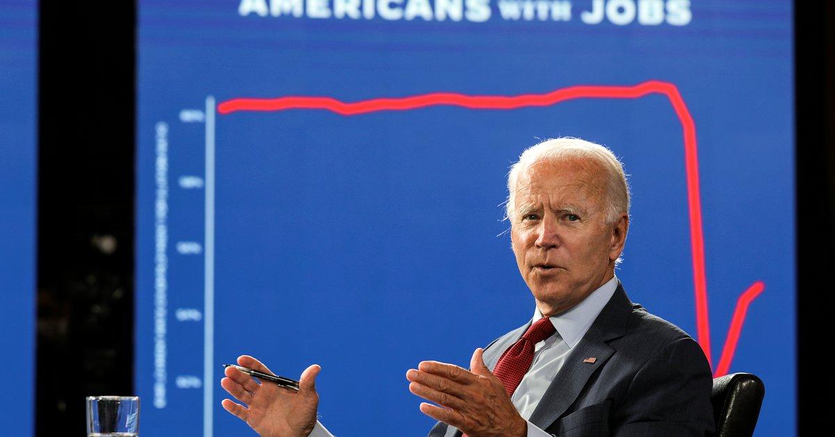 """Biden destacó el acuerdo """"histórico"""" entre Israel y los Emiratos Árabes Unidos.  """"Es un acto de valentía, es muy necesario""""."""