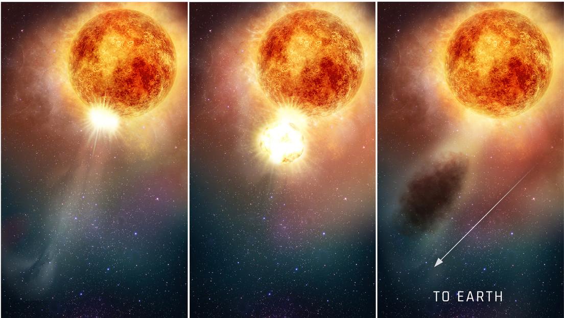 Hubble revela por qué se atenuó Betelgeuse, una de las estrellas más brillantes de nuestra galaxia