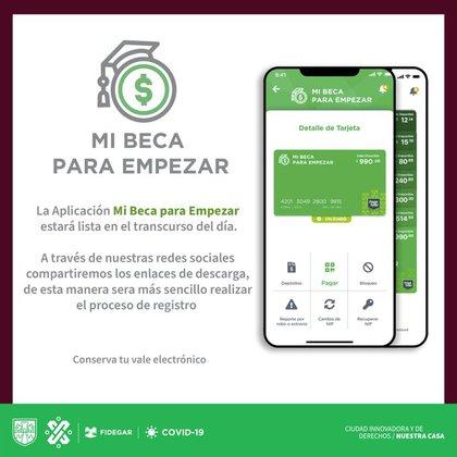 La aplicación creará un bono electrónico, por lo que no tendrá que tener una tarjeta verde física distribuida previamente (Foto de Fideg)
