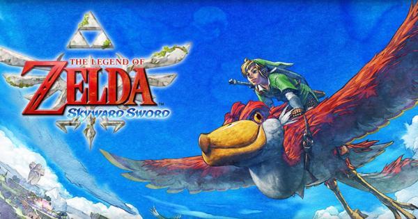 Zelda:  Skyward Sword para Nintendo Switch aparece en la principal tienda online