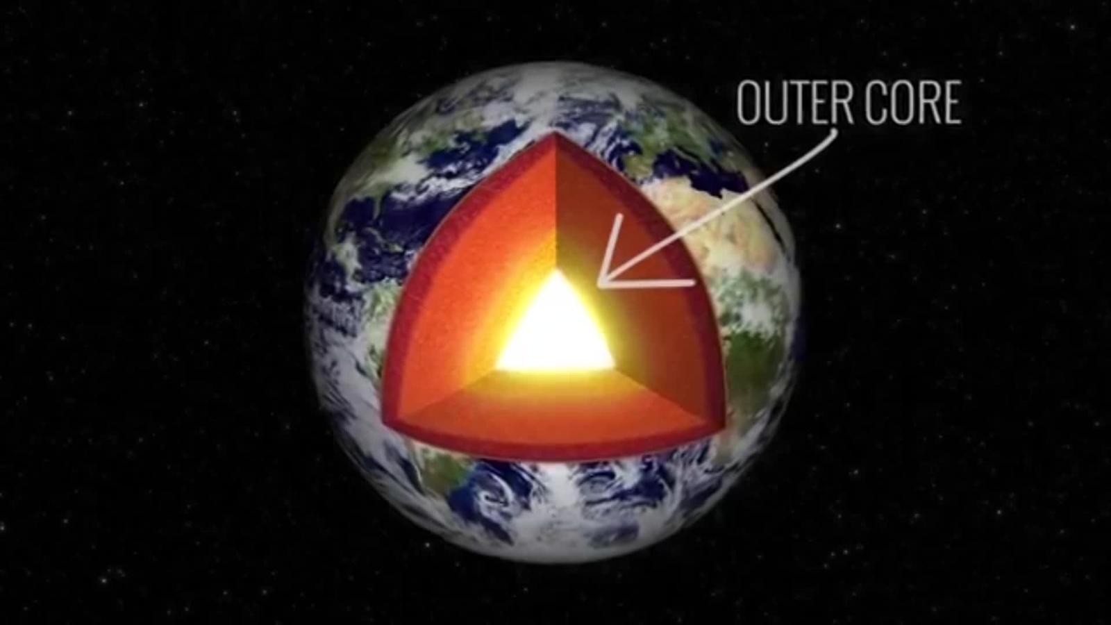 """NASA investiga una """"abolladura"""" en el campo magnético"""