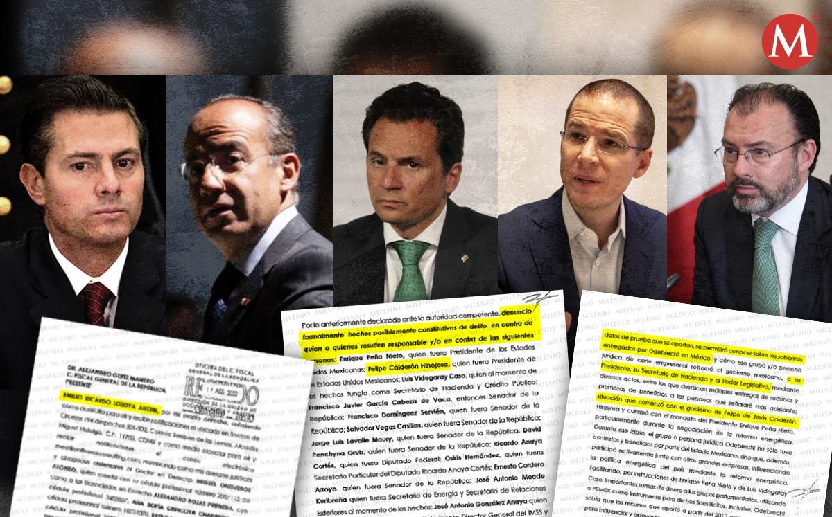 Emilio Lozoa se queja de varios expresidentes y empresarios