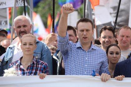 01/01/1970 oponente ruso Alexei Navalny durante un mitin en Moscú POLÍTICA EUROPA RUSIA UNA FOTOPRESS NACIONAL INTERNACIONAL / ZUMA PRESS / CONTACTOPHOTO