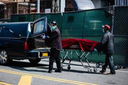 23.641 personas murieron solo en Nueva York.  EFE / Alba Vigaray / Archivo: