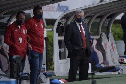 Vítor Manuel Vucetich usó el poder de la disciplina en Chivas.  (Foto: cortesía / Atlético de San Luis)