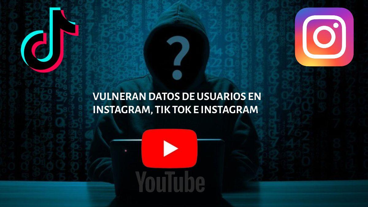 Vulneran datos de redes sociales dos