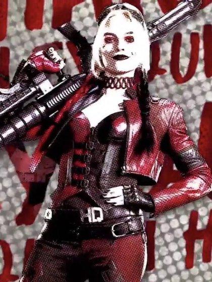 Harley Quinn cambió su look para este nuevo préstamo (Foto de Twitter / girIsofdc)