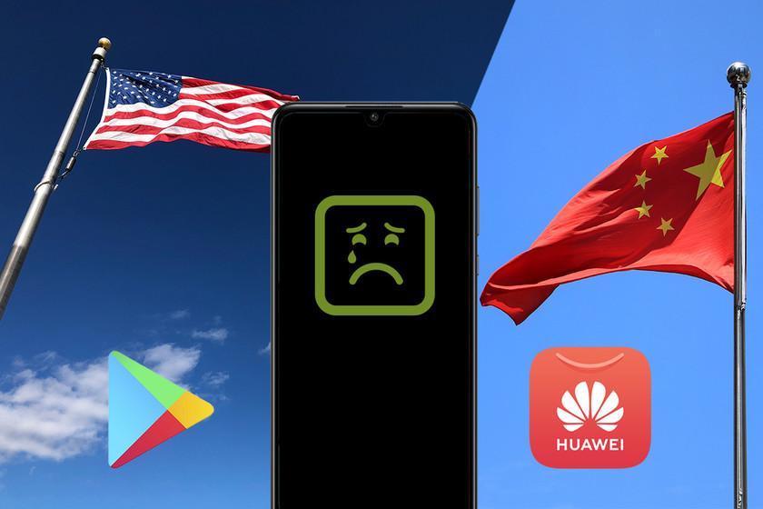 así es como se usa el veto inicial de Huawei a Google Play և Galería de aplicaciones և luchando entre sí