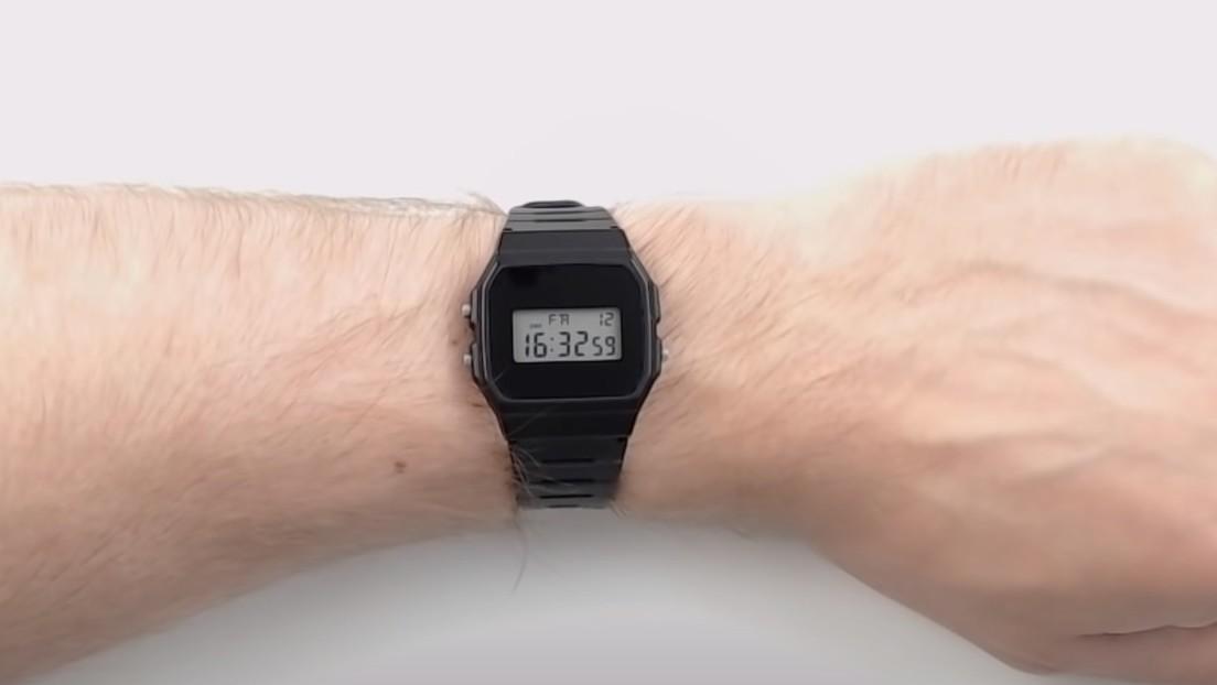 FOTOS: Transforman un clásico Casio en un reloj inteligente que podría usarse para hacer pagos o abrir puertas