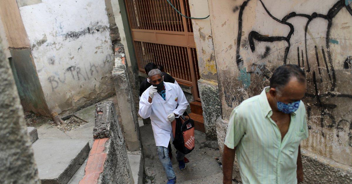 Venezuela.  Los infectados por el coronavirus son alojados en albergues vigilados por médicos cubanos armados.