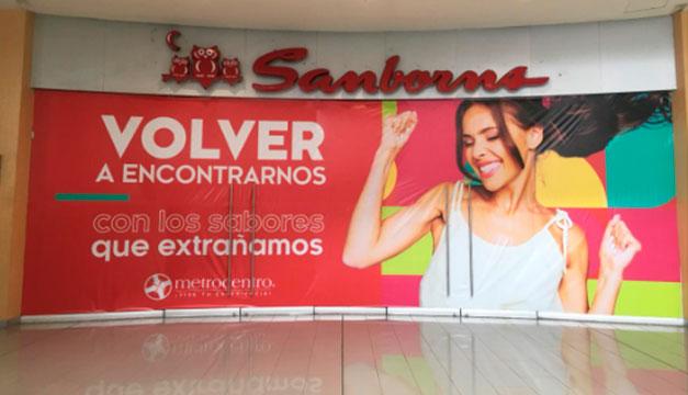 Sanborns ya ha cerrado su tienda en Metrocentro