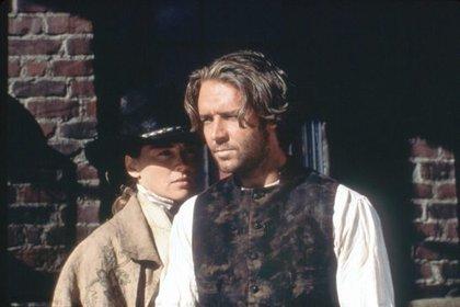 En 1995, Russell Crowe apareció solo en sus películas nativas de Australia (foto de Sony Pictures)