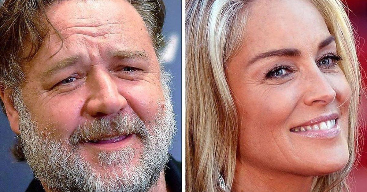 Sharon Stone admitió que seguirá formando una hermosa pareja con Russell Crowe, luego de que el actor le agradeciera por abrirle las puertas de Hollywood.